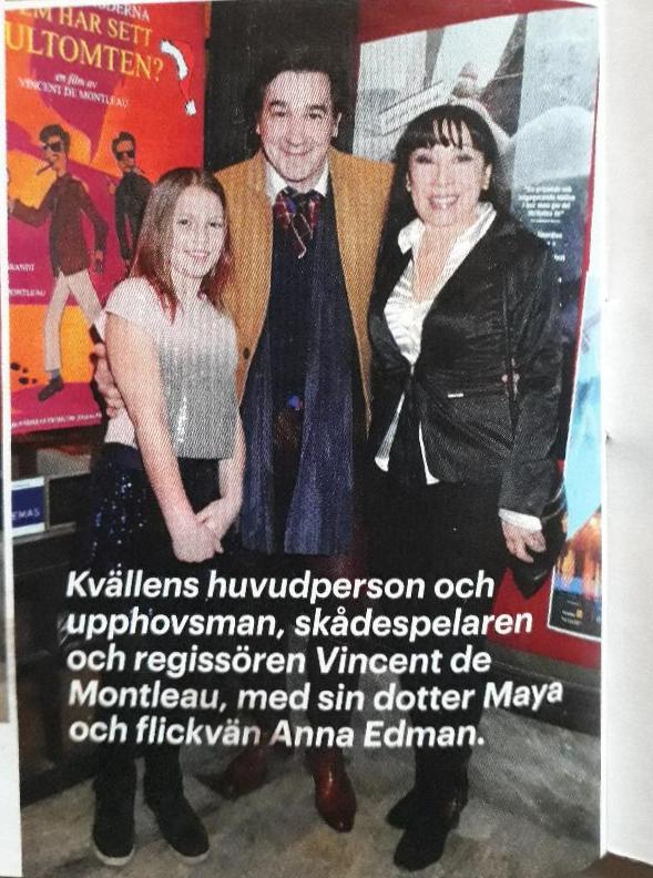 Svensk Damtidning - Vincent de Montleau, Maya de Montleau and Anna Edman